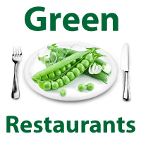 green restaurant picture